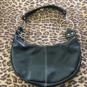 Apt9 Black Faux Leather Purse